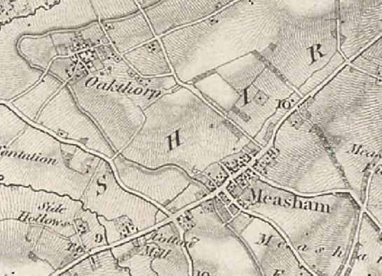 measham oakthorpe os 1st ed