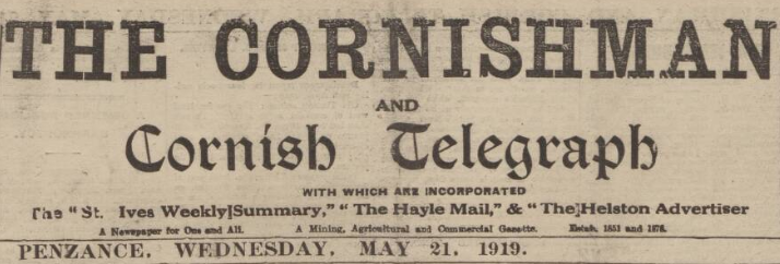 cornishman header