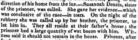 Derby Mercury 14 Jan 1835 susannah