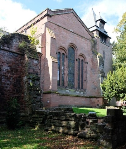 Part of the current church