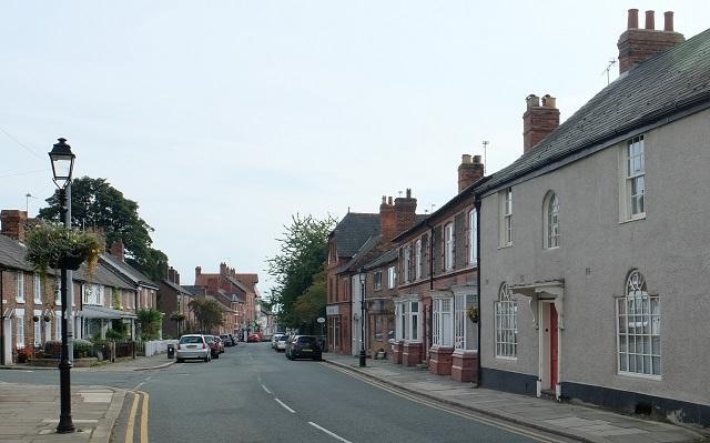 top of High Street