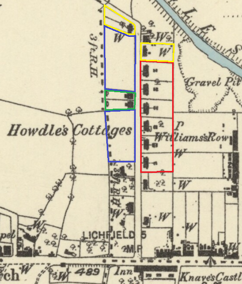 howdles cottages os 1882 1883