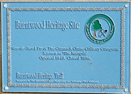 marquis pit blue plaque