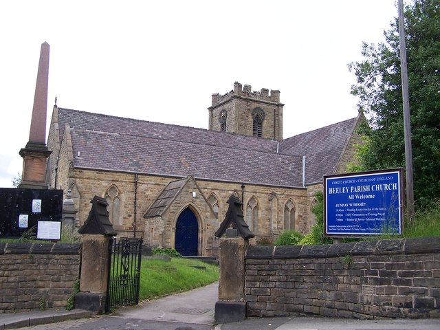 heeley parish church geograph terry robinson
