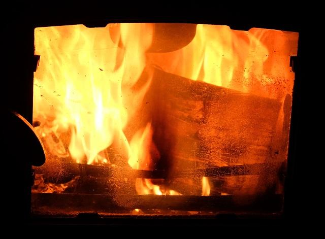 A good blaze.