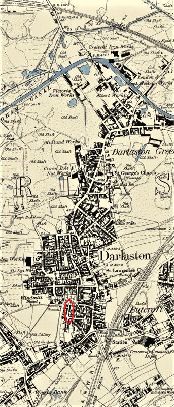 darlaston os 1885 1886