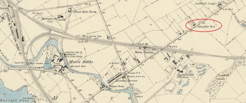 paradise row 1881-82 1885