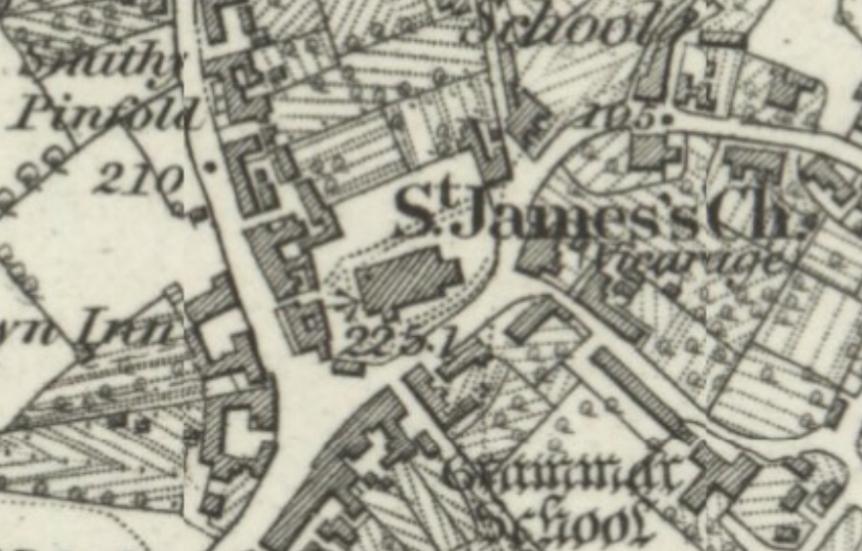Audlem os 1875 1882 c