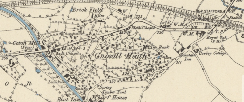 Gnosall Heath 1880 1884