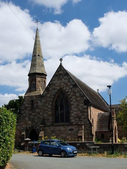 St Mary, Wheaton Aston