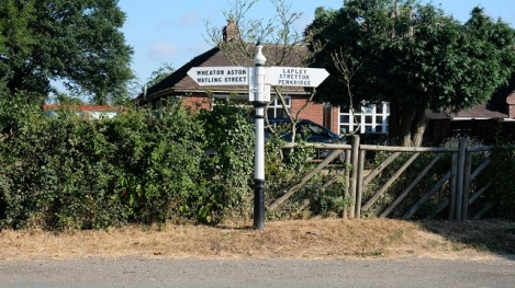 Signpost to family history