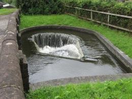 Bumblehole Lock weir