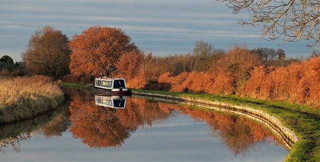 Coventry Canal autumn