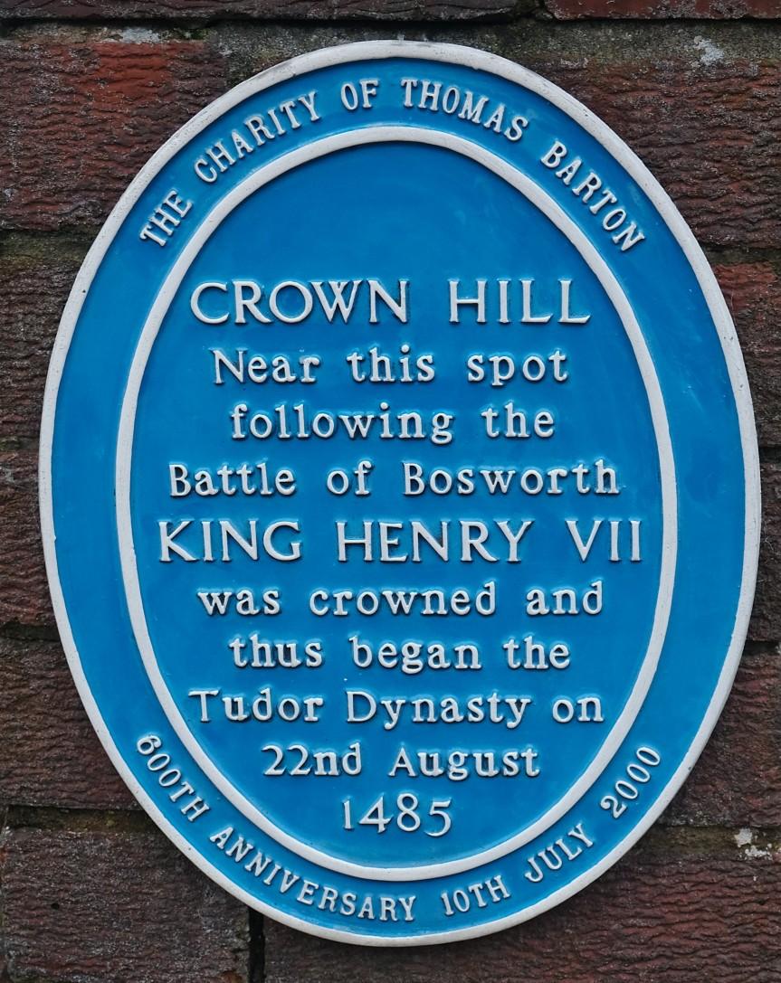Crown Hill blue plaque